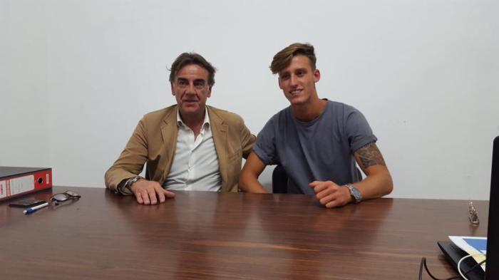 Alessandro Celli firma per l'Andria