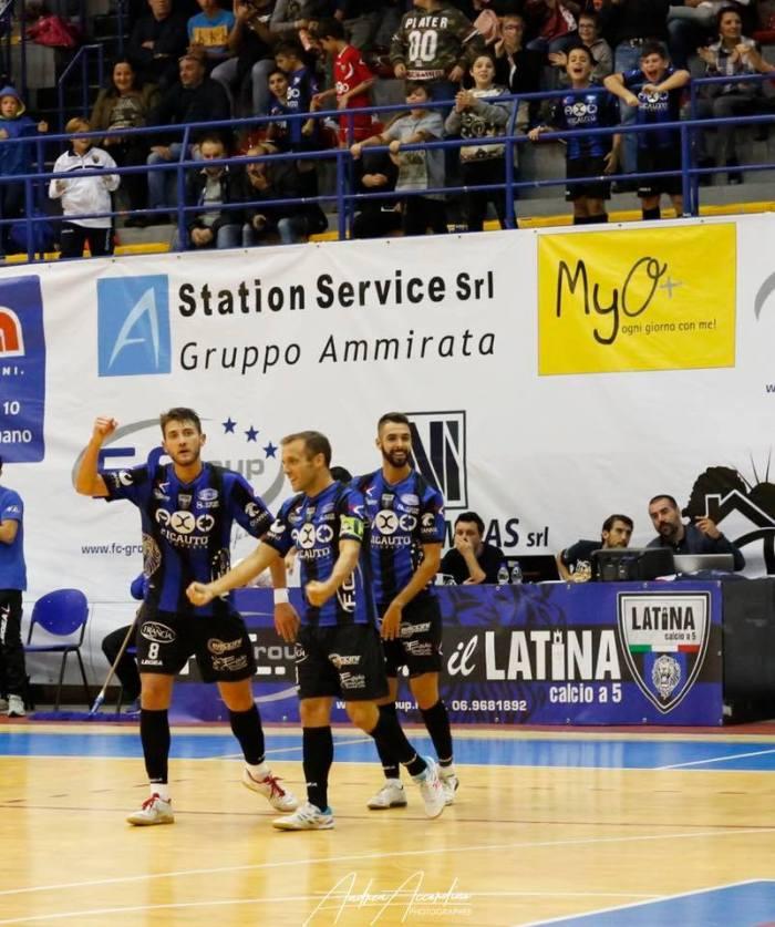 Calcio a 5 – Serie A – Un Latina superlativo annienta le velleità delPescara