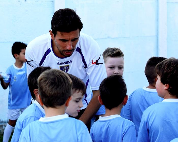 Valerio Salvatori durante la visita del Frosinone Calcio ad Anzio (foto Ferri).jpg
